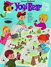 Vintage Reprint - 1964 - Yogi Bear Play Fun Activity Box - Reproduction