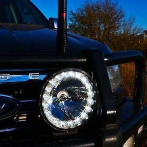 """LIGHTFORCE  9"""" HTX2 HID/LED HYBRID DRIVING LAMP 12V 50W COMBO BEAM 450mm HTXMK2"""