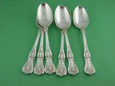 6 Sterling GORHAM Teaspoons KING GEORGE 1894 ~no mono