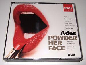 Thomas Adès: Powder Her Face (CD, 1998, 2 Discs, EMI)
