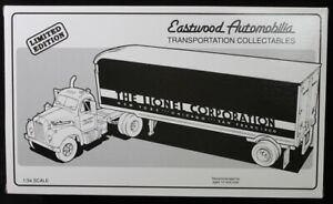 Eastwood Automobilia 1960 B-61 Mack Lionel Tractor Trailer  Limited Edition 1/34