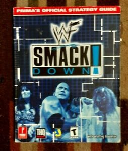 WWF Smackdown! Prima's Official Strategy Game Guide PS1