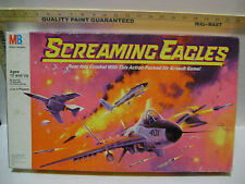 1987 SCREAMING EAGLES AIR ASSAULT BOARD GAME  by Milton Bradley  - COMPLETE