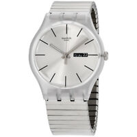 Swatch Originals Quartz Movement Silver Dial Unisex Watch SUOK700B