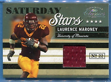 LAURENCE MARONEY ~ 2007 Donruss Classics Saturday Stars #9 JERSEY (#98/250)