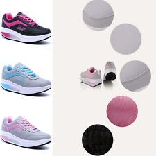 Donna Sport Sneakers Zeppa Tacco Scarpe Sportive Passeggio Fitness Basse Plateau
