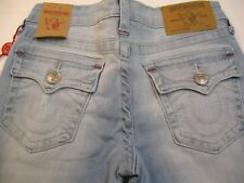 NWT Girls True Religion sz 12 Jeans Flap Back pockets Light blue deniim