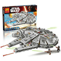 Star Wars Force Awakens Millennium Falcons Star Craft Compatible Lego Kids Gift