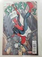 SPIDEY #1 (2016) MARVEL COMICS SPIDER-MAN! 1ST PRINT! NICK BRADSHAW! NM (C555)