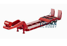 Hercules 140419 2Axle Metal Step Deck Chassis for 1/14 RC Trailer TractorTruck R