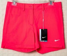 NIKE GOLF Junior Girls SHORTS Dri-Fit Stay Cool Neon PINK Large 831420 617 SWOOS