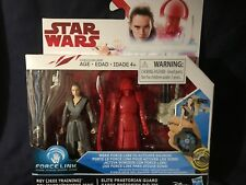 REY & PRAETORIAN GUARD  -  STAR WARS LAST JEDI  2-PACK   - IN HAND