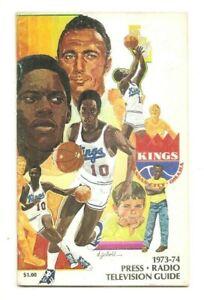 1973-74 Kansas City-Omaha Kings basketball media guide