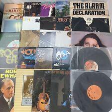 Lot of 25 Records Vinyl LPs Pop Rock Classic Oldies R&B