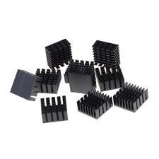 10 Pcs 20x20x10mm Heat Sink Heatsinks Cooling Aluminum Radiator Sm `US