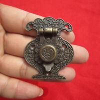 4X Antique Bronze Hasp Latch Jewelry Wooden Box Lock Cabinet  Case Lock bc