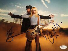 Orianthi Richie Sambora dual signed autographed 8x10 photo JSA COA # V73662