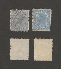 Australia Queensland SC 85 or similar.  Two Pence. Two Stamps, color varities??