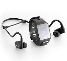 TomTom Spark 3 Cardio GPS watch large size + HRM + 3GB Music + BT Headphones