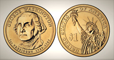 2007 P George Washington Presidential Series Dollar UNC MS Uncirculated!!