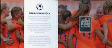More details for netherlands 2017 mnh women's football european champions soccer 1v silver stamp