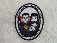 """E28 Groucho Marx 3-3//4/"""" Embroidery Iron-on Patch"""