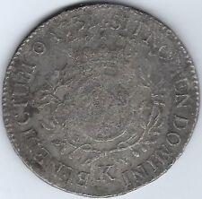 FRANCE (Bordeaux Mint) 1731 Ecu with COA  Auguste Shipwreck 1761 Inv 3520