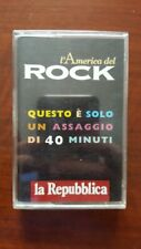 Various ‎– L'America Del Rock CASS Italy PROMO Sampler R.E.M. Talking Heads Byrd