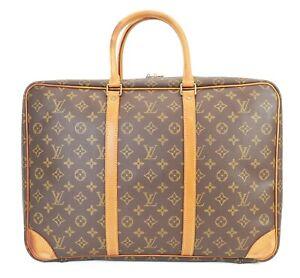 Authentic LOUIS VUITTON Sirius 45 Monogram Suitcase Travel Business Bag #39509