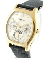 Patek Philippe Perpetual Calendar Moonphase $72,800.00 18k Yellow Gold watch.