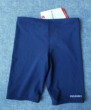 SPEEDO Endurance Junior Boys Basic Jammer Size 6 Navy BRAND NEW tags