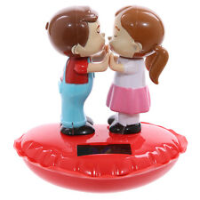 Solar Power/Powered ~ SWEETHEARTS ~ Kissing Couple ~ No Batteries Required
