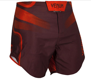 NEW Venum Tempest 2.0 Lightweight Mid-Thigh MMA Fight Shorts Burgundy/Red SIZE L