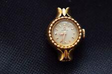 Ancienne petite montre mecanique omega pour femme  or massif 18 k poinçonné