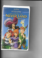 Return to Never Land (VHS, 2002) Clamshell
