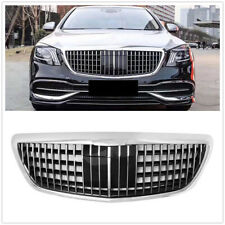 Front Upper Maybach Barbus Grille Grill for Benz S-Class W222 S320 S350 2014-19