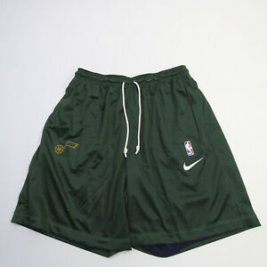 Utah Jazz Nike NBA Authentics Athletic Shorts Men's Green New with Tags