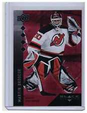 Martin Brodeur 2009-10 Black Diamond Ruby Parallel Card #191 #d /100