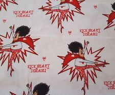 Kick Heart Disease BTY Leslie Moak Murray Quilting Treasures Red White