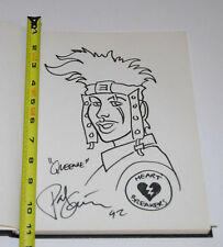 Paul Guinan Queenie Heartbreakers 1992 San Diego Comic Con Full Page Splash Art!