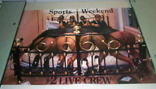2 LIVE CREW Sports Weekend 1989 Vintage Poster