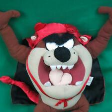 2002 LOONEY TUNES NANCO TASMANIAN DEVIL COSTUME HORNS TAIL PLUSH STUFFED ANIMAL