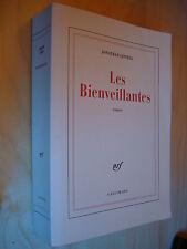 Jonathan Littell Les Bienveillantes NRF Gallimard 2006