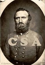 Thomas J. (Stonewall) Jackson, with his signature • taken Nov. 1862