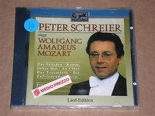 PETER SCHREIER SINGT WOLFGANG AMADEUS MOZART- CD SIGILLATO (SEALED)