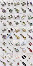 Minimalist Jewellery ! WHOLESALE LOT! 925 SOLID SILVER EARRINGS PENDANTS SETS!
