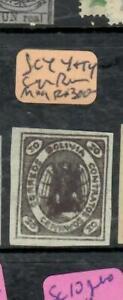 BOLIVIA  (P2511B)   SC 4    SIGNED  BRUN      MOG