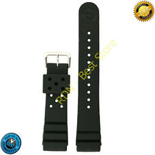 Seiko Rubber Watch Band Original 22mm for Divers Model Strap Rubber Heavy Duty