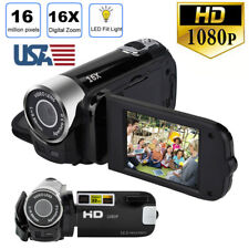 1080P HD Video Camera Camcorder Vlogging Digital Camera LCD DV Night LED Vision