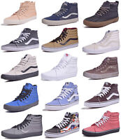 Vans Sk8 Hi Classic Skateboard Shoes Men/Women Choose Colors & Sizes